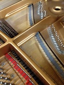 piano innards